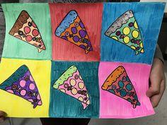 Elements of the Art Room: grade Andy Warhol inspired Pop Art, elementary art lesson, grade art lesson, pop art l Pop Art For Kids, Art Lessons For Kids, Art Lessons Elementary, Chuck Close Art, Andy Warhol Pop Art, Mandala Art, Color Art Lessons, Middle School Art Projects, 6th Grade Art