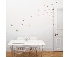 Wandsticker Golden Dots