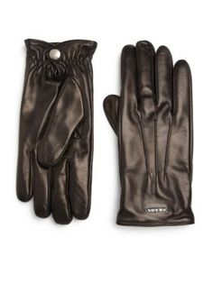 PRADA Nappa Gloves. #prada #gloves