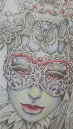 Bennett klein artist . Colour my sketchbook coloured by Sarah hunter