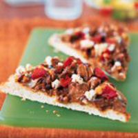 Texas Beef Council - Recipe Book - Quick Beef & Caramelized Onion Pizza