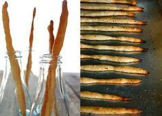Butterflyfood: bread sticks