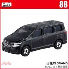 TOMICA小汽車 NO.88-NISSAN ELGRAND
