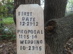 Our Wedding First Rustic Wood Sign by AngelPaws6 on Etsy