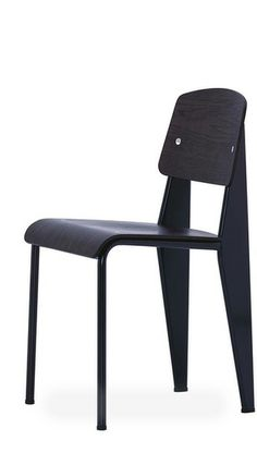 Prouve standard black chair