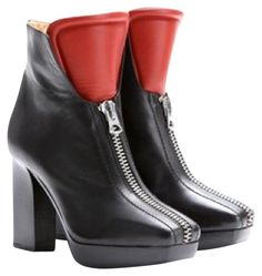 Acne Studios Vita Zipped Tounge Black And Red Boots. Get the must-have boots of this season! These Acne Studios Vita Zipped Tounge Black And Red Boots are a top 10 member favorite on Tradesy. Save on yours before they're sold out!