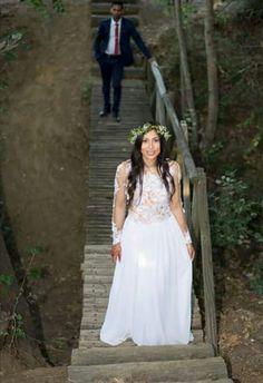 Boho chic wedding Chic Wedding, Boho Chic, Wedding Dresses, Fashion, Bride Dresses, Moda, Bridal Gowns, Alon Livne Wedding Dresses, Fashion Styles