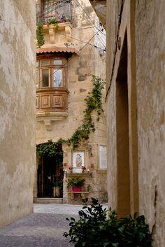 Jolie ruelle de Rabat, Malte