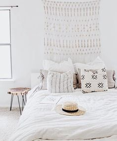 A bedroom should be a peaceful place and boy do we feel like taking a day nap in this one!