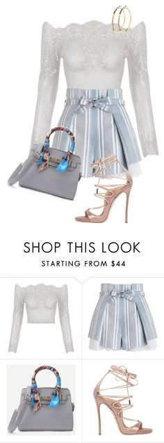 """LOOK PRINCESS"" by celsoromera on Polyvore featuring moda, Zimmermann, Dsquared2 e Pieces"