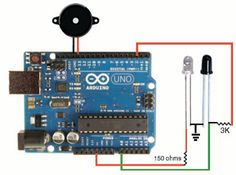 How to use IR LED and Photodiode with Arduino