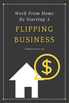 "Looking for a way to work from home with little to no money? Learn why starting a buy and sell, a.k.a. ""flipping"", business is the best option for you."