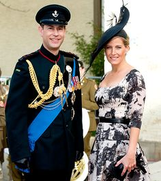 Prince Edward & Sophie Are the Earl & Countess of Wessex. Kids are Lady Louise Windsor & James