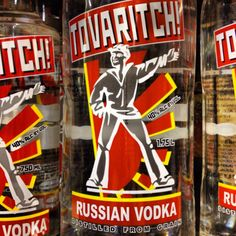 Tovaritch #Russian #Vodka | Available at Ice Cube #Chandigarh