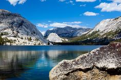 Tenaya Lake, Tioga Pass Road, Yosemite National Park