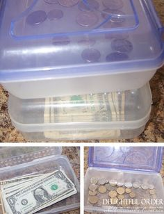 Host an Organized Garage / Yard Sale (use school boxes for cash and change, notebook for keeping track of who items belong to, masking tape instead of stickers for pricing)