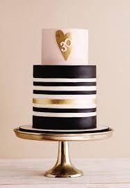 Bildergebnis für 18th birthday cake for men, gold, black, and white