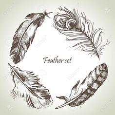 tattoo dreamcatcher con piume di pavone - Cerca con Google