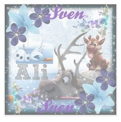 """my new Sven icon!!!"" by ladybug-as-sassy ❤ liked on Polyvore featuring beauty and Disney"