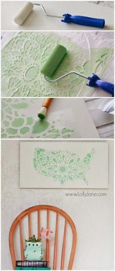 15 gyönyörű faldekoráció saját kezűleg - MindenegybenBlog