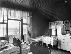 Frelsesarmeen mødrehjem Solfeng Nordstrandveien Sovesal