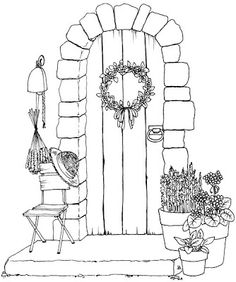 Beccy's Place-find it peaceful for some reason. There's a Copic colored version on the same page.