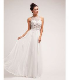 This elegant dress is beautifully designed, featuring glittering rhinestone beading over the lace embroidered sleeveless...Price - $222.00-PKzHWKEc