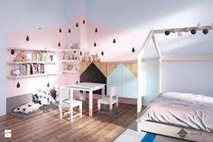 Znalezione obrazy dla zapytania pokój dla dziewczynki w stylu skandynawskim