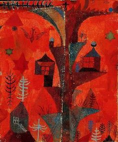 Houses in the Trees,1932 by Paul Klee
