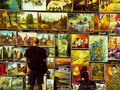 Paintings for sale at Florian...