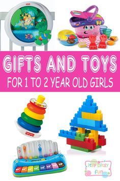 Best Gifts For 1 Year Old Girls. Lots of Ideas for 1st Birthday, Christmas and 1 to 2 Year Olds