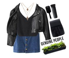 """""""# Genuine People"""" by credentovideos ❤ liked on Polyvore featuring Acne Studios, GHD, NARS Cosmetics and Genuine_People"""