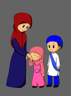 Comission for Children's Book greetings to parents before to go and back to home Wallpaper For Computer Backgrounds, Cartoon Wallpaper, Teacher Cartoon, Girl Cartoon, Islamic Cartoon, Kids Background, Muslim Family, Anime Muslim, Hijab Cartoon