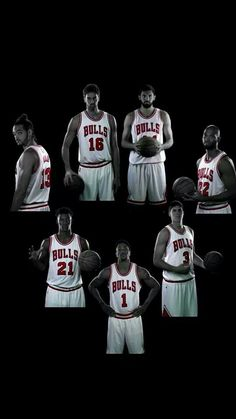 Noah | Gasol | Mirotic | Gibson | McDermott | Rose | Butler Chicago Bulls 14-15