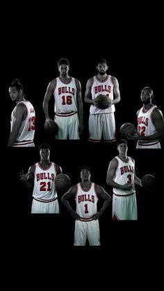 Noah | Gasol | Mirotic | Gibson | McDermott | Rose | Butler  Chicago Bulls 14-15