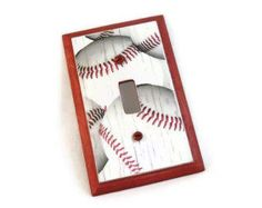 Popular items for baseball room