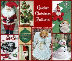 crochet christmas patterns
