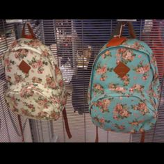 Floral backpack from target!