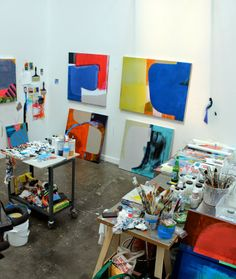 Ruth Freeman \\ Studio Visit   The Studio Work