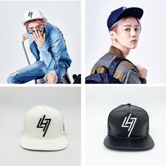 Luhan Leather Snapback
