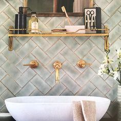 Glitter Grout, the Sparkly New Trend In DIY Home Decor, Is Taking Over Pinterest