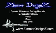 Custom Airbrush Shop located in Houston / Katy, Texas http://www.ZimmerDesignZ.com