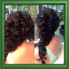Grad hair Sweet 16 Hairstyles, Salons, Dreadlocks, Hair Styles, Beauty, Beautiful, Hair Plait Styles, Lounges, Hair Makeup