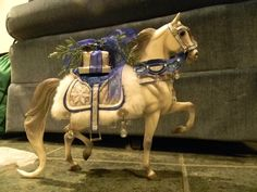 Snow Princess Breyer Horse 2006  This is another Holiday model I hope to get for my cousin eventually.