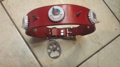 Custom King Fisher Beer Bottle Cap  Spike by TwoSticksLeather, $38.99