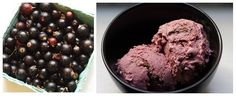Blackcurrant and Gingersnap - blackcurrant ice cream with chunks of homemade gingernsap cookies