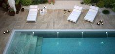 Fliese für Schwimmbecken / für Innenbereich / Boden / Feinsteinzeug LAKE STONE T20 CERAMICHE SUPERGRES