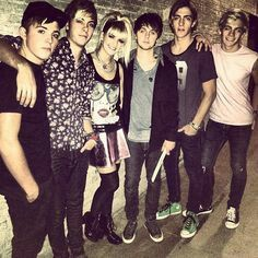 #R5 #rosslynch #rikerlynch #rydellynch #rockylynch #rylandlynch #ellinghtonratliff #thebestbandever #loud #ninelives #myfavouritessongs #loverockyshoes #like #follow