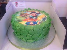 Tree Fu Tom inspired cake