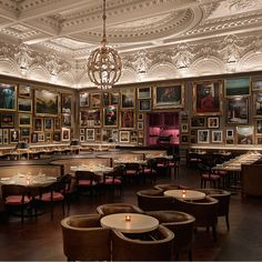 BERNERS TAVERN AT THE LONDON EDITION HOTEL